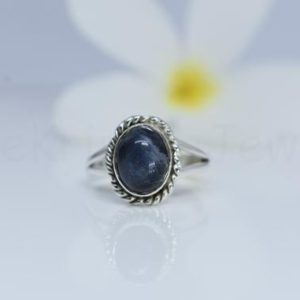 Shop Pietersite Rings! Natural Pietersite Gemstone Ring, 925 Sterling Silver, Oval Gemstone Ring, Split Band Ring, Twisted Bezel Set Ring, Cabochon Gemstone Ring | Natural genuine Pietersite rings, simple unique handcrafted gemstone rings. #rings #jewelry #shopping #gift #handmade #fashion #style #affiliate #ad