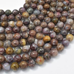 Shop Pietersite Beads! Pietersite Beads, 8mm (8.3mm) Round Beads, 15.5 Inch, Full strand, Approx 49 beads, Hole 1mm, A quality (346054011) | Natural genuine round Pietersite beads for beading and jewelry making.  #jewelry #beads #beadedjewelry #diyjewelry #jewelrymaking #beadstore #beading #affiliate #ad