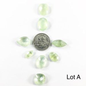 Shop Prehnite Stones & Crystals! Faceted Prehnite Lots // Prehnite Cabochon // Gems // Cabochons // Jewelry Making Supplies / Village Silversmith | Natural genuine stones & crystals in various shapes & sizes. Buy raw cut, tumbled, or polished gemstones for making jewelry or crystal healing energy vibration raising reiki stones. #crystals #gemstones #crystalhealing #crystalsandgemstones #energyhealing #affiliate #ad