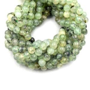 Shop Prehnite Round Beads! Prehnite Beads | Smooth Prehnite Round Beads | 6mm 8mm 10mm | Single Or Bulk Lots Available | Natural genuine round Prehnite beads for beading and jewelry making.  #jewelry #beads #beadedjewelry #diyjewelry #jewelrymaking #beadstore #beading #affiliate #ad