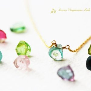 Shop Watermelon Tourmaline Necklaces! Raw watermelon tourmaline necklace, Multicolor tourmaline necklace, Watermelon tourmaline slice necklace, 14k Gold filled | Natural genuine Watermelon Tourmaline necklaces. Buy crystal jewelry, handmade handcrafted artisan jewelry for women.  Unique handmade gift ideas. #jewelry #beadednecklaces #beadedjewelry #gift #shopping #handmadejewelry #fashion #style #product #necklaces #affiliate #ad