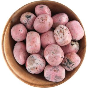 Shop Rhodochrosite Stones & Crystals! 1 Rhodochrosite – Ethically Sourced Tumbled Stone | Natural genuine stones & crystals in various shapes & sizes. Buy raw cut, tumbled, or polished gemstones for making jewelry or crystal healing energy vibration raising reiki stones. #crystals #gemstones #crystalhealing #crystalsandgemstones #energyhealing #affiliate #ad
