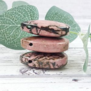 Shop Rhodonite Bead Shapes! Rhodonite Gemstone Beads, Reiki Infused Rhodonite Beads, Teardrop Crystal Beads | Natural genuine other-shape Rhodonite beads for beading and jewelry making.  #jewelry #beads #beadedjewelry #diyjewelry #jewelrymaking #beadstore #beading #affiliate #ad