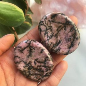 Shop Rhodonite Shapes! Rhodonite Worry Stone, Rhodonite, Polished Rhodonite, Rhodonite   Natural genuine stones & crystals in various shapes & sizes. Buy raw cut, tumbled, or polished gemstones for making jewelry or crystal healing energy vibration raising reiki stones. #crystals #gemstones #crystalhealing #crystalsandgemstones #energyhealing #affiliate #ad