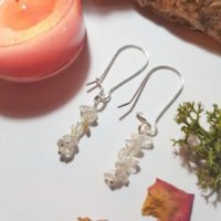 Rutilated Quartz Earrings – Crystal Earrings – Cleansing Crystals   Natural genuine Gemstone jewelry. Buy crystal jewelry, handmade handcrafted artisan jewelry for women.  Unique handmade gift ideas. #jewelry #beadedjewelry #beadedjewelry #gift #shopping #handmadejewelry #fashion #style #product #jewelry #affiliate #ad
