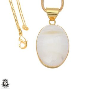 Shop Scolecite Pendants! White Scolecite 24k Gold Plated Pendant 3mm Italian Snake Chain Gph1645 | Natural genuine Scolecite pendants. Buy crystal jewelry, handmade handcrafted artisan jewelry for women.  Unique handmade gift ideas. #jewelry #beadedpendants #beadedjewelry #gift #shopping #handmadejewelry #fashion #style #product #pendants #affiliate #ad