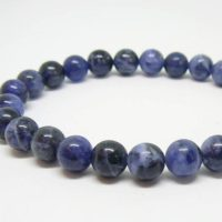 10 Mm Dark Blue Sodalite Stone Beads Gemstone Bracelet,  Blue Stone Beads, Sodalite Wrist, Blue Bead Bracelet, Dark Blue Bracelet | Natural genuine Gemstone jewelry. Buy crystal jewelry, handmade handcrafted artisan jewelry for women.  Unique handmade gift ideas. #jewelry #beadedjewelry #beadedjewelry #gift #shopping #handmadejewelry #fashion #style #product #jewelry #affiliate #ad
