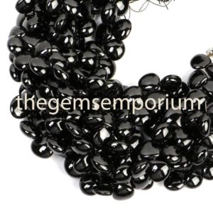 Black Spinel Plain Smooth Heart Beads, Black Spinel Heart Shape Beads, black Spinel Plain Beads, black Spinel Smooth Beads, black Spinel Beads | Natural genuine other-shape Gemstone beads for beading and jewelry making.  #jewelry #beads #beadedjewelry #diyjewelry #jewelrymaking #beadstore #beading #affiliate #ad