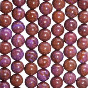 Shop Sugilite Beads! 6mm Purple Sugilite Gemstone Round Loose Beads 15.5 inch Full Strand (80007168-A245) | Natural genuine round Sugilite beads for beading and jewelry making.  #jewelry #beads #beadedjewelry #diyjewelry #jewelrymaking #beadstore #beading #affiliate #ad
