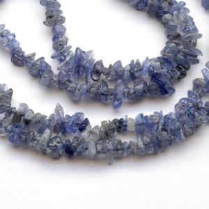 Shop Tanzanite Chip & Nugget Beads! Smooth Blue Tanzanite Uncut Beads, 4mm To 6mm Natural Tanzanite Chips Beads, Sold As 32 Inch Strand, GDS2025 | Natural genuine chip Tanzanite beads for beading and jewelry making.  #jewelry #beads #beadedjewelry #diyjewelry #jewelrymaking #beadstore #beading #affiliate #ad