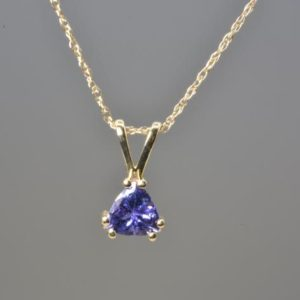 Shop Tanzanite Pendants! NATURAL TANZANITE NECKLACE in 14k gold, December Birthstone, Fine Jewelry, Tanzanite Pendant, Gemstone jewelry, Free Shipping, Gift for her | Natural genuine Tanzanite pendants. Buy crystal jewelry, handmade handcrafted artisan jewelry for women.  Unique handmade gift ideas. #jewelry #beadedpendants #beadedjewelry #gift #shopping #handmadejewelry #fashion #style #product #pendants #affiliate #ad