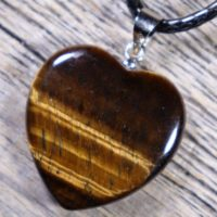 Tigers Eye Heart Healing Stone Necklace With Positive Healing Energy! | Natural genuine Gemstone jewelry. Buy crystal jewelry, handmade handcrafted artisan jewelry for women.  Unique handmade gift ideas. #jewelry #beadedjewelry #beadedjewelry #gift #shopping #handmadejewelry #fashion #style #product #jewelry #affiliate #ad