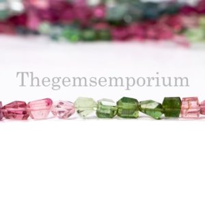 Shop Tourmaline Chip & Nugget Beads! Multi Tourmaline Faceted nugget Beads, Tourmaline Faceted Beads, Tourmaline fancy nugget Beads, Multi Tourmaline Beads, Tourmaline Beads | Natural genuine chip Tourmaline beads for beading and jewelry making.  #jewelry #beads #beadedjewelry #diyjewelry #jewelrymaking #beadstore #beading #affiliate #ad