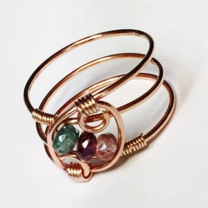 Shop Watermelon Tourmaline Rings! Tourmaline Ring, October Birthstone, Watermelon Tourmaline Ring, Pink Tourmaline Ring, Green Tourmaline Ring, Rose Gold Jewelry | Natural genuine Watermelon Tourmaline rings, simple unique handcrafted gemstone rings. #rings #jewelry #shopping #gift #handmade #fashion #style #affiliate #ad