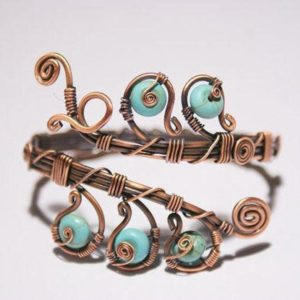 Shop Turquoise Bracelets! Turquoise Bracelet For Women, Turquoise Cuff Bracelet, Turquoise Bangle, Blue Turquoise Jewelry, Copper Jewelry, Wire Wrapped Jewelry | Natural genuine Turquoise bracelets. Buy crystal jewelry, handmade handcrafted artisan jewelry for women.  Unique handmade gift ideas. #jewelry #beadedbracelets #beadedjewelry #gift #shopping #handmadejewelry #fashion #style #product #bracelets #affiliate #ad