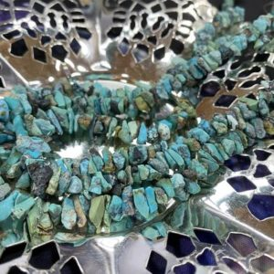 Shop Turquoise Chip & Nugget Beads! Natural Deepturquoise Nugget Chip Beads 4-6mm Approx / Turquoise Gemstone Nugget Beads / Turquoise Beads For Jewellery Making 10 Beads | Natural genuine chip Turquoise beads for beading and jewelry making.  #jewelry #beads #beadedjewelry #diyjewelry #jewelrymaking #beadstore #beading #affiliate #ad