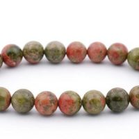 Father Day Gift For Men Bracelet For Him Jewelry Unisex Bracelet Aaa Unakite Bracelet Gemstone Bracelet Unakite Jewelry Beaded Bracelet Mens | Natural genuine Gemstone jewelry. Buy handcrafted artisan men's jewelry, gifts for men.  Unique handmade mens fashion accessories. #jewelry #beadedjewelry #beadedjewelry #shopping #gift #handmadejewelry #jewelry #affiliate #ad