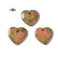 Natural Unakite Heart Shape Pendant Size 45mm 50mm Sold Per Piece | Natural genuine Gemstone jewelry. Buy crystal jewelry, handmade handcrafted artisan jewelry for women.  Unique handmade gift ideas. #jewelry #beadedjewelry #beadedjewelry #gift #shopping #handmadejewelry #fashion #style #product #jewelry #affiliate #ad