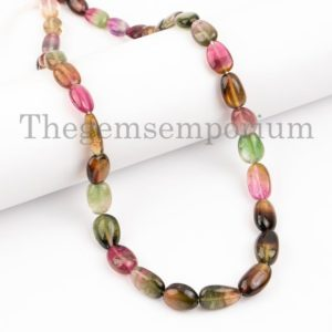 Shop Watermelon Tourmaline Beads! AAA Quality Necklaces For Women, Extremely Rare Watermelon Tourmaline Nuggets Necklace, Natural Tourmaline Necklace, Nuggets Necklace, Gifts | Natural genuine chip Watermelon Tourmaline beads for beading and jewelry making.  #jewelry #beads #beadedjewelry #diyjewelry #jewelrymaking #beadstore #beading #affiliate #ad