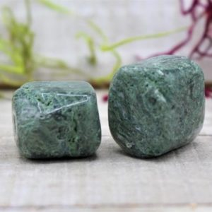 Shop Tumbled Agate Crystals & Pocket Stones! Tumbled Tree Agate Polished Stone | Natural genuine stones & crystals in various shapes & sizes. Buy raw cut, tumbled, or polished gemstones for making jewelry or crystal healing energy vibration raising reiki stones. #crystals #gemstones #crystalhealing #crystalsandgemstones #energyhealing #affiliate #ad