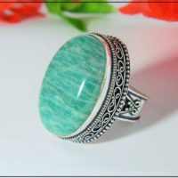 Handmade Natural Sterling Silver Amazonite Ring, Silver Ring, Gift For Her, Unique Gift Ring, Designer Ring, Gemstone Ring, Handmade Ring, | Natural genuine Gemstone jewelry. Buy crystal jewelry, handmade handcrafted artisan jewelry for women.  Unique handmade gift ideas. #jewelry #beadedjewelry #beadedjewelry #gift #shopping #handmadejewelry #fashion #style #product #jewelry #affiliate #ad