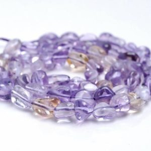 Shop Ametrine Chip & Nugget Beads! 6-8mm Ametrine Gemstone Pebble Nugget Granule Loose Beads 15.5 Inch Full Strand (80001950-a32)   Natural genuine chip Ametrine beads for beading and jewelry making.  #jewelry #beads #beadedjewelry #diyjewelry #jewelrymaking #beadstore #beading #affiliate #ad