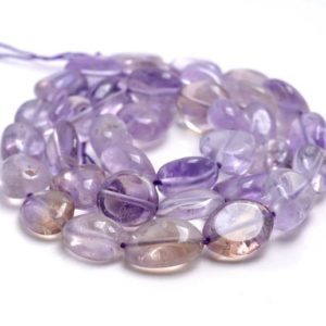 Shop Ametrine Chip & Nugget Beads! 9-10mm Ametrine Gemstone Pebble Nugget Granule Loose Beads 15.5 Inch Full Strand (80001977-a35)   Natural genuine chip Ametrine beads for beading and jewelry making.  #jewelry #beads #beadedjewelry #diyjewelry #jewelrymaking #beadstore #beading #affiliate #ad