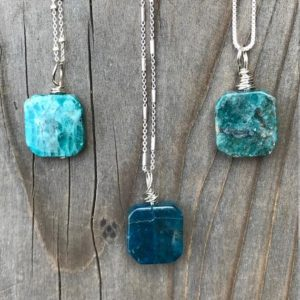 Shop Apatite Pendants! Apatite / Blue Apatite / Apatite Necklace / Apatite Pendant / Chakra Jewelry / Apatite Jewelry | Natural genuine Apatite pendants. Buy crystal jewelry, handmade handcrafted artisan jewelry for women.  Unique handmade gift ideas. #jewelry #beadedpendants #beadedjewelry #gift #shopping #handmadejewelry #fashion #style #product #pendants #affiliate #ad