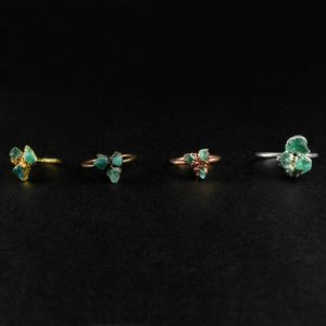 Shop Apatite Rings! Rough Apatite Ring   Blue Apatite Ring   Large Neon Apatite Ring   Blue Apatite Jewelry   Raw Apatite Jewellery   Raw Stone Ring   Jewelry   Natural genuine Apatite rings, simple unique handcrafted gemstone rings. #rings #jewelry #shopping #gift #handmade #fashion #style #affiliate #ad