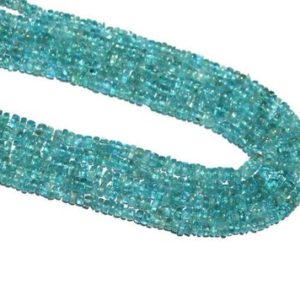"""Shop Apatite Rondelle Beads! Apatite Rondelle Beads, aaa Natural Apatite Smooth Plain Rondelle Beads, natural Apatite Rondelle Beads, size 5mm 13"""" Inch Strand In Low Price   Natural genuine rondelle Apatite beads for beading and jewelry making.  #jewelry #beads #beadedjewelry #diyjewelry #jewelrymaking #beadstore #beading #affiliate #ad"""