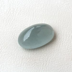 Shop Aquamarine Cabochons! Loose Aquamarine oval cabochon gemstone 29.35ct Natural stone 25x16mm | Natural genuine stones & crystals in various shapes & sizes. Buy raw cut, tumbled, or polished gemstones for making jewelry or crystal healing energy vibration raising reiki stones. #crystals #gemstones #crystalhealing #crystalsandgemstones #energyhealing #affiliate #ad