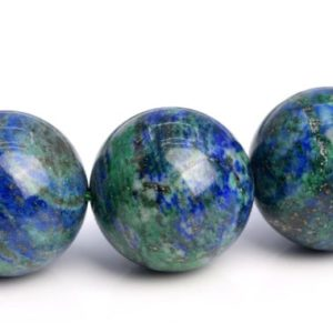 """Shop Azurite Beads! 15-16MM Azurite Beads Grade AAA Natural Gemstone Quarter Strand Round Loose Beads 4"""" BULK LOT 1,3,5,10 and 50 (103610hf-948)   Natural genuine beads Azurite beads for beading and jewelry making.  #jewelry #beads #beadedjewelry #diyjewelry #jewelrymaking #beadstore #beading #affiliate #ad"""