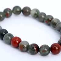 22 Pcs – 8mm Blood Stone Beads Bracelet Grade Aaa Genuine Natural Round Gemstone (106659h-1353) | Natural genuine Gemstone jewelry. Buy crystal jewelry, handmade handcrafted artisan jewelry for women.  Unique handmade gift ideas. #jewelry #beadedjewelry #beadedjewelry #gift #shopping #handmadejewelry #fashion #style #product #jewelry #affiliate #ad