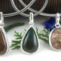 1 Pendant, sterling Silver Pendant, bronzite, blood Stone, natural Jasper, pendants, necklace Pendants, stone Pendants, jasper, gemstone, wholesale | Natural genuine Gemstone jewelry. Buy crystal jewelry, handmade handcrafted artisan jewelry for women.  Unique handmade gift ideas. #jewelry #beadedjewelry #beadedjewelry #gift #shopping #handmadejewelry #fashion #style #product #jewelry #affiliate #ad