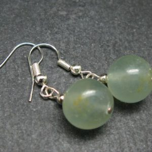 Shop Blue Calcite Earrings! Minimalist Design Lemurian Aquatine Blue Calcite 11mm Beads Dangle Shepherd Hook Earrings from Argentina   Natural genuine Blue Calcite earrings. Buy crystal jewelry, handmade handcrafted artisan jewelry for women.  Unique handmade gift ideas. #jewelry #beadedearrings #beadedjewelry #gift #shopping #handmadejewelry #fashion #style #product #earrings #affiliate #ad