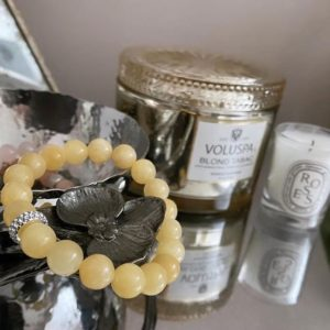 Shop Calcite Bracelets! Yellow Calcite bracelet | Natural genuine Calcite bracelets. Buy crystal jewelry, handmade handcrafted artisan jewelry for women.  Unique handmade gift ideas. #jewelry #beadedbracelets #beadedjewelry #gift #shopping #handmadejewelry #fashion #style #product #bracelets #affiliate #ad