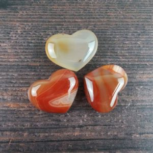 Shop Carnelian Stones & Crystals! Carnelian Crystal Heart, Reiki Infused Wire Wrapping Healing Crystals, Self Care Mindfulness Gift | Natural genuine stones & crystals in various shapes & sizes. Buy raw cut, tumbled, or polished gemstones for making jewelry or crystal healing energy vibration raising reiki stones. #crystals #gemstones #crystalhealing #crystalsandgemstones #energyhealing #affiliate #ad