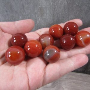 Shop Carnelian Stones & Crystals! Carnelian Sphere 20 mm S66 | Natural genuine stones & crystals in various shapes & sizes. Buy raw cut, tumbled, or polished gemstones for making jewelry or crystal healing energy vibration raising reiki stones. #crystals #gemstones #crystalhealing #crystalsandgemstones #energyhealing #affiliate #ad