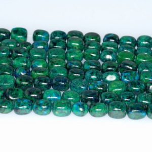 Shop Chrysocolla Chip & Nugget Beads! 8x6MM  Chrysocolla Quantum Quattro Gemstone Nugget Loose Beads 15.5 inch Full Strand (90182646-A139) | Natural genuine chip Chrysocolla beads for beading and jewelry making.  #jewelry #beads #beadedjewelry #diyjewelry #jewelrymaking #beadstore #beading #affiliate #ad