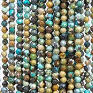 Shop Chrysocolla Faceted Beads! 127 Pcs – 3MM Multicolor Chrysocolla Beads Grade AA Genuine Natural Faceted Round Gemstone Loose Beads (107707)   Natural genuine faceted Chrysocolla beads for beading and jewelry making.  #jewelry #beads #beadedjewelry #diyjewelry #jewelrymaking #beadstore #beading #affiliate #ad