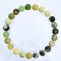 """8mm Matte Chrysoprase / Australian Jade Beads Bracelet Grade A Genuine Natural Round Gemstone 7"""" Bulk Lot 1, 3, 5, 10, 50 (106779h-065) 