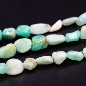 """Shop Chrysoprase Chip & Nugget Beads! 3-8MM Chrysoprase / Australian Jade Beads Pebble Chips Grade A Genuine Natural Gemstone Loose Beads 15.5"""" / 7.5"""" Bulk Lot Options (115614) 