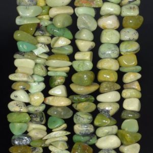 Shop Chrysoprase Chip & Nugget Beads! 8-9MM  Chrysoprase Gemstone Pebble Nugget Chip Loose Beads 15.5 inch  (80000573-A74) | Natural genuine chip Chrysoprase beads for beading and jewelry making.  #jewelry #beads #beadedjewelry #diyjewelry #jewelrymaking #beadstore #beading #affiliate #ad