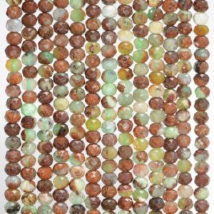 Shop Chrysoprase Faceted Beads! 3x2MM  Chrysophrase  Gemstone Grade AA Micro Faceted Rondelle Loose Beads 15.5 inch Full Strand (80010011-A200) | Natural genuine faceted Chrysoprase beads for beading and jewelry making.  #jewelry #beads #beadedjewelry #diyjewelry #jewelrymaking #beadstore #beading #affiliate #ad