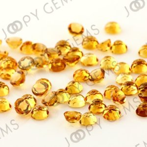 Shop Citrine Stones & Crystals! Citrine Rose Cut Cabochon 5mm Round – per stone | Natural genuine stones & crystals in various shapes & sizes. Buy raw cut, tumbled, or polished gemstones for making jewelry or crystal healing energy vibration raising reiki stones. #crystals #gemstones #crystalhealing #crystalsandgemstones #energyhealing #affiliate #ad