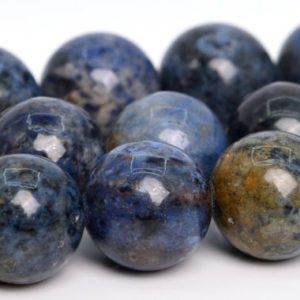 """Shop Dumortierite Beads! 12MM Dumortierite Beads AAA Genuine Natural South Africa Gemstone Full Strand Round Loose Beads 15.5"""" BULK LOT 1,3,5,10,50 (105285-1499) 