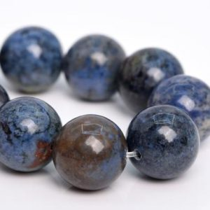 """Shop Dumortierite Beads! 12MM Dumortierite Beads AAA Genuine Natural South Africa Gemstone Half Strand Round Loose Beads 7.5"""" BULK LOT 1,3,5,10,50 (105285h-1499) 
