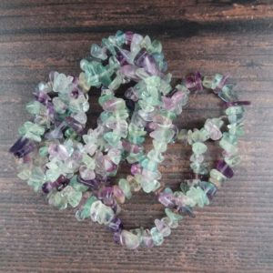Fluorite Gemstone Beads, Crystal Chips Bag of 50 Pieces, Reiki Infused A Extra Grade Fluorite Beads | Natural genuine chip Fluorite beads for beading and jewelry making.  #jewelry #beads #beadedjewelry #diyjewelry #jewelrymaking #beadstore #beading #affiliate #ad