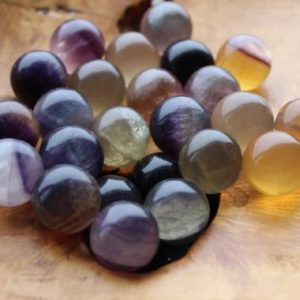 Shop Fluorite Shapes! 20 mm Fluorite Sphere S25 | Natural genuine stones & crystals in various shapes & sizes. Buy raw cut, tumbled, or polished gemstones for making jewelry or crystal healing energy vibration raising reiki stones. #crystals #gemstones #crystalhealing #crystalsandgemstones #energyhealing #affiliate #ad