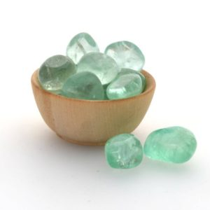 2 X Mini Green Fluorite Tumblestone Crystals, Mini Tumbled Fluorite | Natural genuine stones & crystals in various shapes & sizes. Buy raw cut, tumbled, or polished gemstones for making jewelry or crystal healing energy vibration raising reiki stones. #crystals #gemstones #crystalhealing #crystalsandgemstones #energyhealing #affiliate #ad